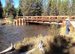 Cow Meadow Bridge over Upper Deschutes