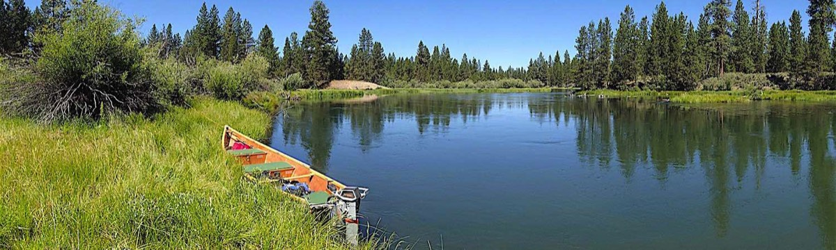 Photo of Boat on Upper Deschutes River