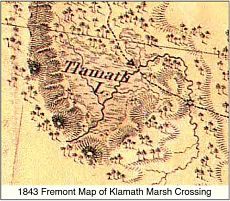 1843 Fremont Map of Crossing